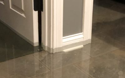Four things to do when your home has experienced water damage